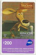 Uruguay - Ancel - Open Season Amigos Salvajes - Venado Elliot - Big Size GSM Refill 200$, Used - Uruguay