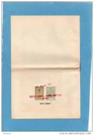 """TURQUIE-2timbres Fiscaux-""""Taxe De Passage""""??sur Brochure-12 Pages -croisière -PAQUES 1954-ISTANBUL- - 1921-... Republic"""