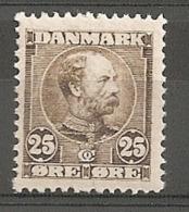 Denmark 1904 MNH / **  25 øre  Mi: 50     (dk346)