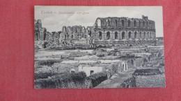 > Tunisia Tunisie  Amphitheatre==    Ref 2203 - Tunisia