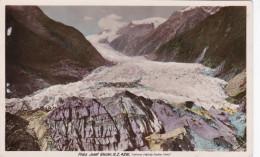 New Zeeland Franz Josef Glacier Gletsjer Ka Roimata O Hinehukatere In Māori Westland New Zealand - Nouvelle-Zélande
