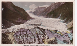 New Zeeland Franz Josef Glacier Gletsjer Ka Roimata O Hinehukatere In Māori Westland New Zealand - Nuova Zelanda