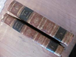 1822 Voyage En Espagne Lettres Philosophiques Histoire Generale Des Dernieres Guerres De La Peninsule Amade Napoleon - Livres, BD, Revues