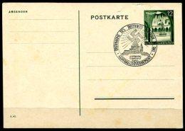 4011 - DEUTSCHES REICH - GENERALGOUVERNEMENT - Ganzsachen-Postkarte P 10 (II.Wahl) Mit Sonderstempel - Besetzungen 1938-45