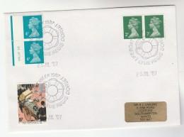 1987 GB Stamps  COVER EVENT Pmk LYME REGIS LIFEBOAT WEEK - 1952-.... (Elizabeth II)