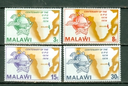 Malawi 1974 Yv 217/220**, Mi 216/219**  MNH - Malawi (1964-...)