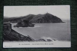 SAN SEBASTIAN - Isla De Santa Clara Y Monte Igueldo - Guipúzcoa (San Sebastián)