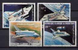 Mauritanie,  1981,  Space Shuttle - Europa