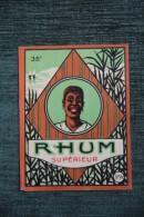 "ETIQUETTE "" RHUM SUPERIEUR "". - Rhum"