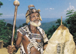 South-Africa Zuid Afrika Afrique Etnique Etnic Africa African Headman Valley Of A Thousand Hills Natal - Afrique Du Sud