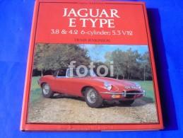 JAGUAR E TYPE DENIS JENKINSON Cars Old Car Book Livre Livro - Sonstige