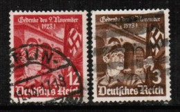 GERMANY  Scott # 467-8 VF USED - Used Stamps