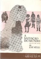 Teatro - José Régio - A Salvação Do Mundo - Portalegre - Vila Do Conde - Lisboa - Books, Magazines, Comics