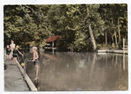 LARDY--La Piscine Et Les Bords De La Juine (animée),cpsm 15 X 10 N° Ec 78888 éd Combier....à Saisir - Lardy