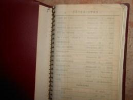 PETIT AGENDA DE 1965 ( Avec Des Notes écrites; Voir Les Photos) - Calendriers