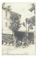SAVOIE  /  AIX-les-BAINS  /  SQUARE  DU  TEMPLE  DE  DIANE  ( Café-restaurant BAYSSON ) /  CARTE-PHOTO - Aix Les Bains