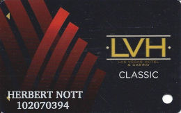 Las Vegas Hotel Casino Slot Card - Casino Cards