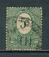 Poland 1920, Upper Silesia (Plebiscite) ERROR / Plattenfehler MiNr 3 I Used - Variétés & Curiosités