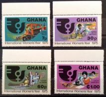 Ghana 1975 MNH** # 554/557 - Ghana (1957-...)