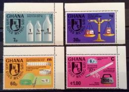 Ghana 1975 MNH** # 570/573 - Ghana (1957-...)