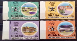 Ghana 1976 MNH** # 574/577 - Ghana (1957-...)