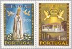 Portugal 1967 - 50th Anniversary Of The Marian Apparition At Fatima  MNH Michel 1031-1032 - 1910-... Republic