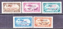 FRENCH  SYRIA   C 67-71   * - Airmail