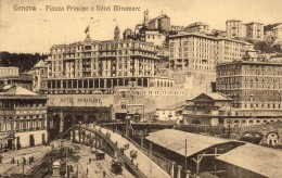 GENOVA Piazza Principe E Hotel Miramare - Genova (Genoa)