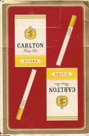 Jeu De 52 Cartes Carlton King Size Filtra (rouge) - Cartes à Jouer Classiques