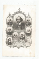 Gravure , SHAKSPEARE'S PORTRAITS  , 23.5 X 15 , Frais Fr : 1.55€ - Engravings