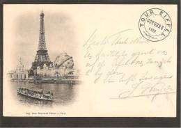 75 Paris. La Tour Eiffel. Octobre 1900 - Non Classés