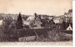 LUZILLE: Vue Générale, église - France