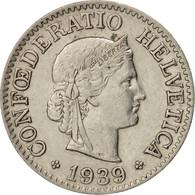 Suisse, 10 Rappen, 1939, Bern, TTB+, Nickel, KM:27b - Suiza