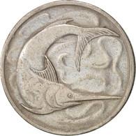 Singapour, 20 Cents, 1969, Singapore Mint, TTB, Copper-nickel, KM:4 - Singapore