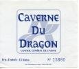 Caverne Du Dragon Musée Du Chemin Des Dames Ticket 12X12 Grande Guerre 14/18 - Oulches Vallée Foulon - Toegangskaarten