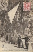 La France Et L'Italie En Bonne Harmonie En 1920 - Frontière Française Et Italienne - Pont St-Louis - Edition Monetti - Zoll