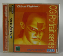 Sega Saturn Japanese : Virtua Fighter CG Portrait Series Vol.5 Wolf Hawkfield GS-9064 - Sega