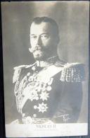 RUSSIE  TSAR NICOLAS 2   CARTE PHOTO  VERS 1910 - Rusland