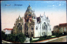 HONGRIE   JUDAICA    SZEGED LA SYNAGOGUE - Hongrie