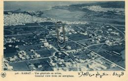 MAROC - RABAT - VUE GENERALE EN AVION - Rabat