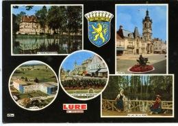 Lure (70) Multivues Sous Pref Le Lycée Av République église Lac Forêt Folklore(neuve N°003 Cm) - Lure