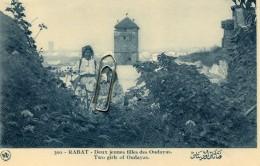 MAROC - RABAT - DEUX JEUNES FILLES DES OUDAYAS - Rabat