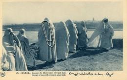 MAROC - RABAT - GROUPE DE MAROCAINES DEVANT SALE - Rabat