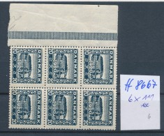 Dänemark- Nr.6x 111 **  ( Ff8667 )siehe Scan  !