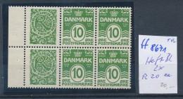 Dänemark- Nr.Heftblatt Mit R20  **  ( Ff8671 )siehe Scan  !