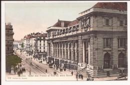 Geneve : Hotel Des Postes Et Rue De Mont Blanc - GE Genf