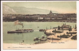 Geneve : Le Port - GE Genève
