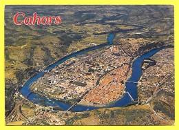 CPSM Cahors (46) - Vue Générale Panoramique Prise En Avion 1991 - Cahors