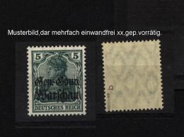 Deutsche Post In Polen Nr.8b,xx,gep. - Besetzungen 1914-18