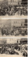 60 COMPIEGNE  Beau LOT De 5 Cartes Fêtes En L'honneur De Jeanne D'Arc 28 Mai Et  Juin 1911 (LL Editeur) - Compiegne